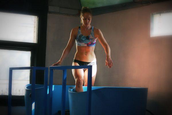 Vanessa Ice Bath